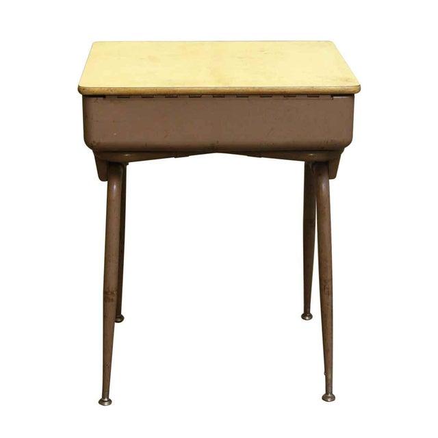 Mid-Century Modern School Desk - Image 7 of 7