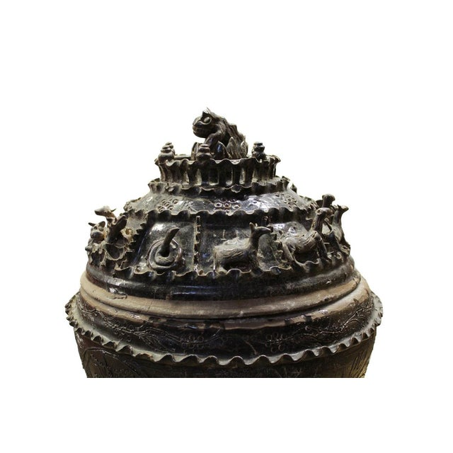 Han Dynasty-Style Ceremonial Jar - Image 7 of 10