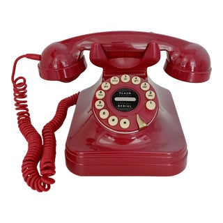 Vintage Pottery Barn Push Button Telephone For Sale
