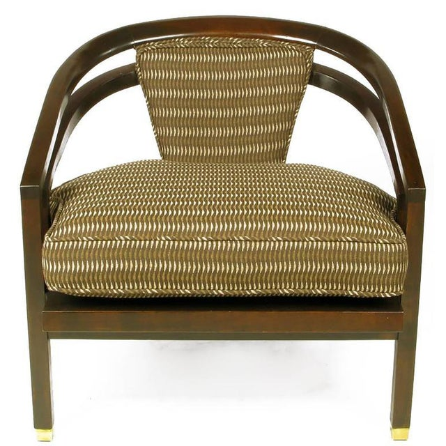 Century Furniture Pair of Elegant 1960s Club Chairs by Century For Sale - Image 4 of 9