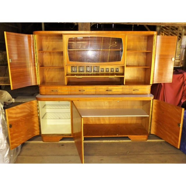 Mid-Century Modern Kitchen Hoosier Hutch - Image 4 of 11