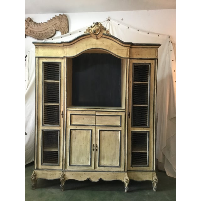 French Carved Center Crown Armoire For Sale - Image 13 of 13