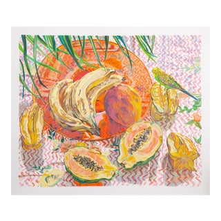 """Janet Fish, """"Still Life With Tropical Fruits"""", Figurative Still Life For Sale"""