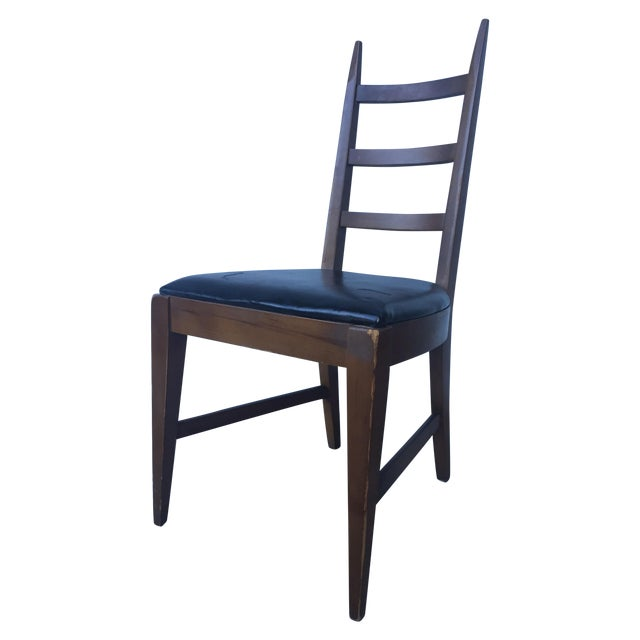 Mid-Century Ladder Back Side Chair - Image 1 of 10