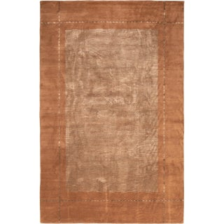 """Art Deco Hand Knotted """"Secession"""" Rug For Sale"""