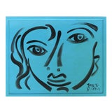 """Image of Peter Keil """"Painting Blue Period"""", Berlin '76 For Sale"""