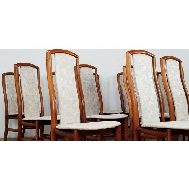 1960s Mid-Century Danish Dining Chairs- Set of 12 For Sale - Image 5 of 12