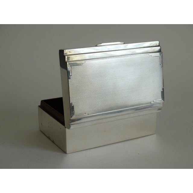 Art Deco Sterling Silver Table Box For Sale - Image 10 of 10