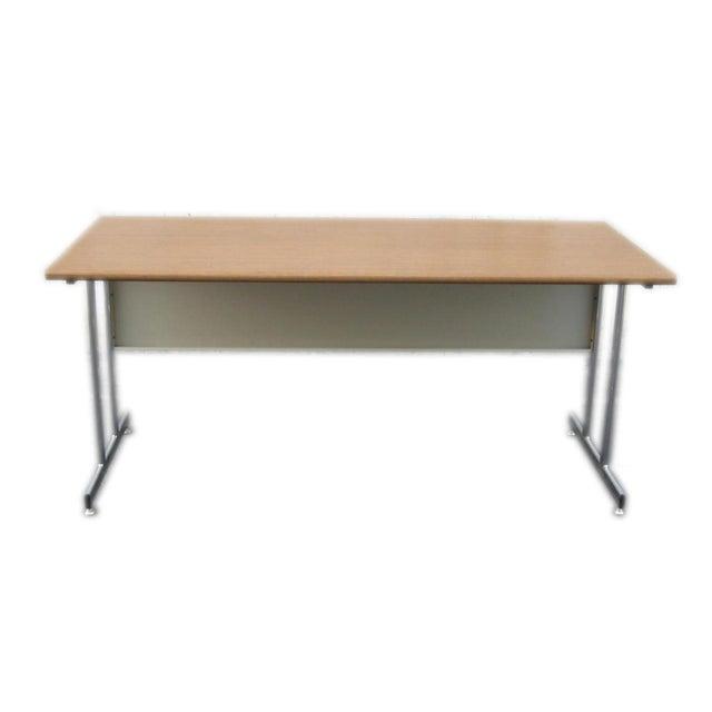 2010s Hon Modern Minimalist Metal Desk For Sale - Image 5 of 6