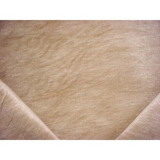 Traditional Ralph Lauren Balboa Linen Velvet Chamois Upholstery Fabric - 2-1/4y For Sale