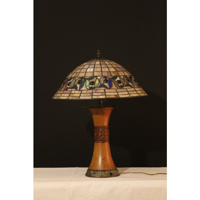 1930s Arts and Crafts Style Table Lamp For Sale - Image 4 of 9