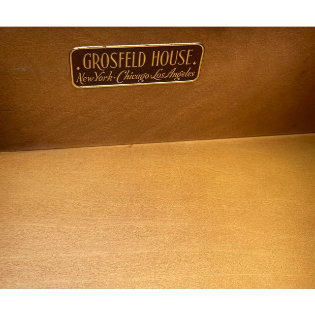 1950s Grosfeld House Hollywood Regency Empire Credenza Buffet Server For Sale - Image 5 of 9