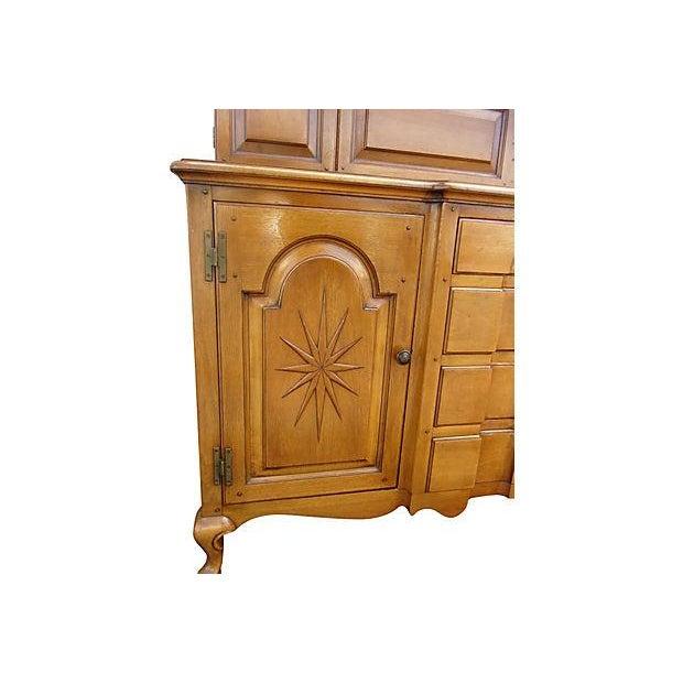 Pennsylvania Dutch Breakfront Cabinet - Image 6 of 7