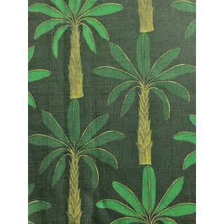 Tropical Fabric in Mallard Green, 5 Yards For Sale