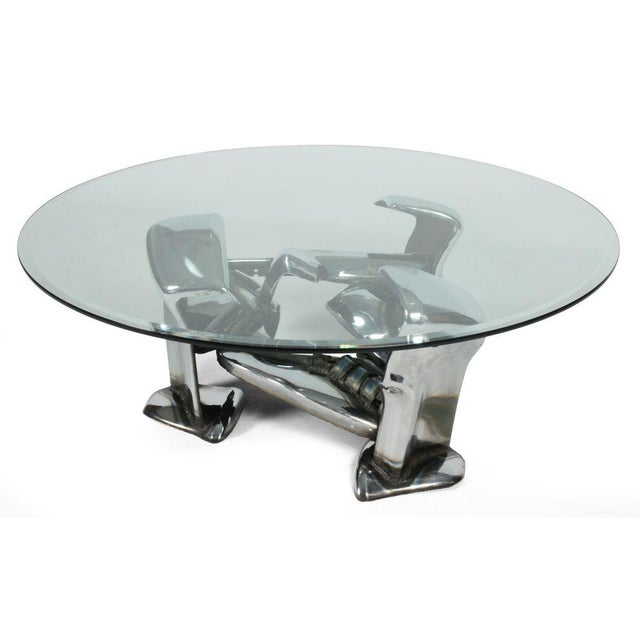 John E. Pendleton Twisted Metal Cocktail Table For Sale In New York - Image 6 of 9