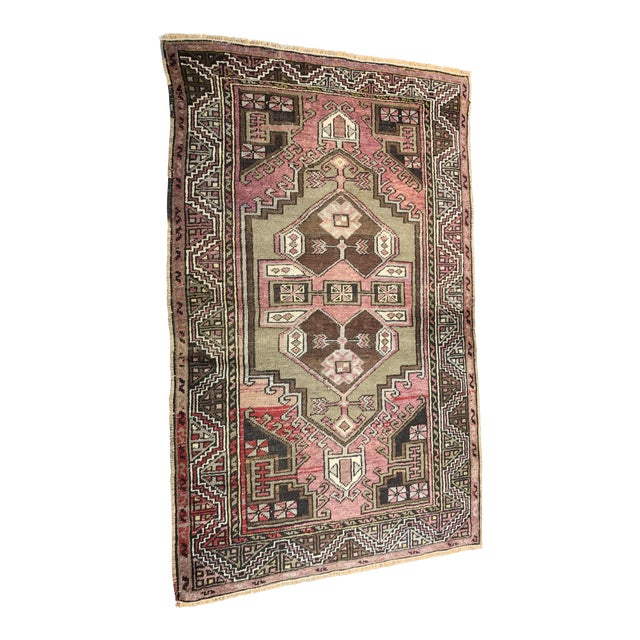 """Bellwether Rugs Distressed Look Vintage Turkish Oushak - 2'11""""x4'7"""" - Image 1 of 11"""