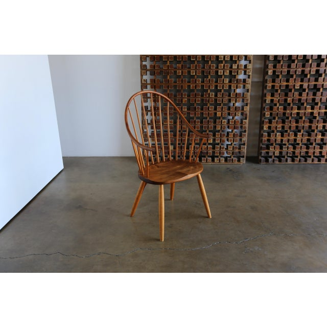 Mid Century John Onstine Handcrafted Continuous Armchair For Sale - Image 10 of 10