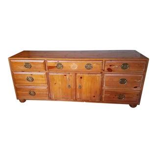 Henredon Asian Pine Dresser For Sale