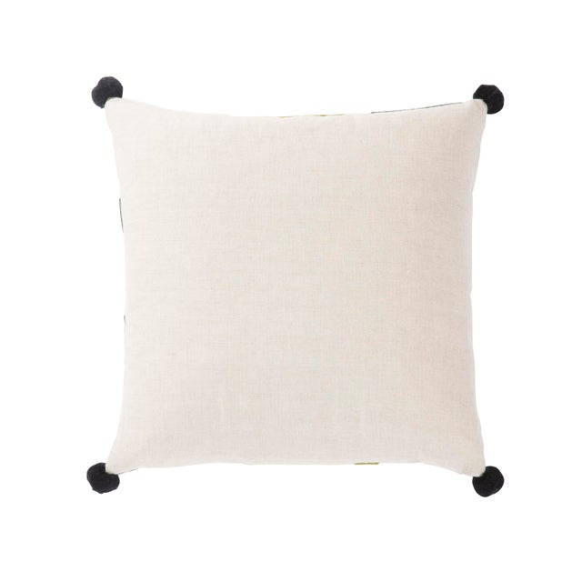 This globally inspired Nikki Chu throw pillow makes a modern impact with stunning architectural detailing. An alternating...