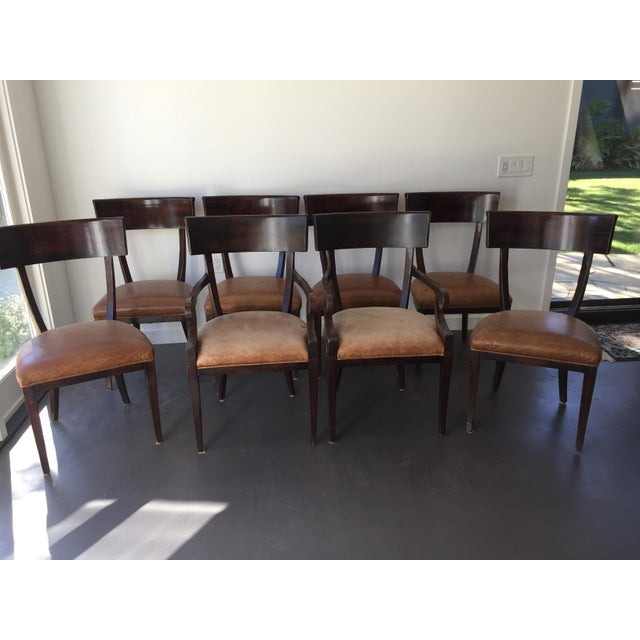 Baker Milling Road Empire Chairs - Set of 8 - Image 3 of 6