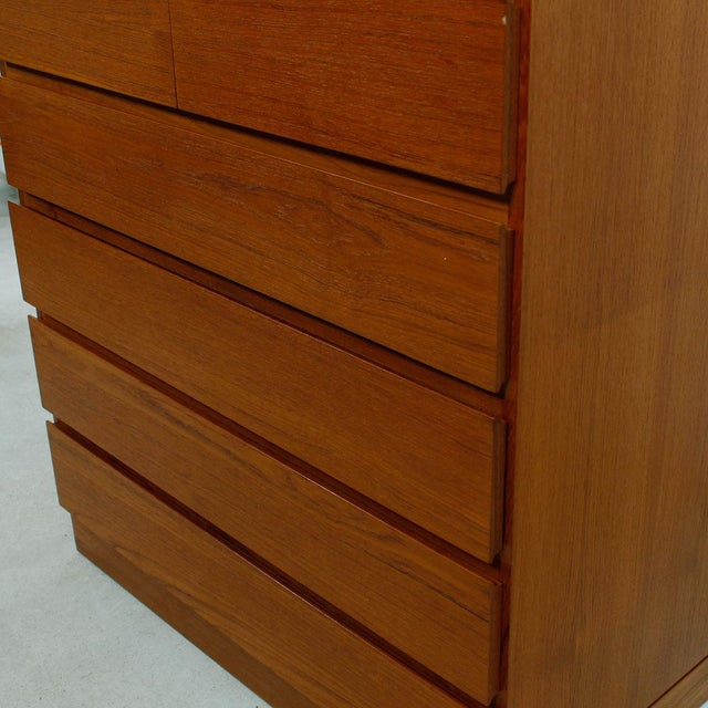 Vinde Mobelfabrik Danish Modern 10-Drawer Dresser For Sale - Image 7 of 10