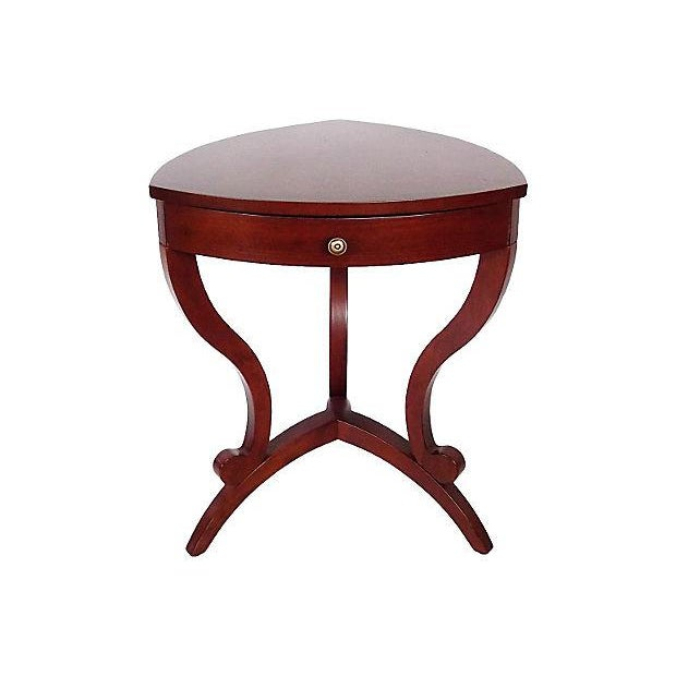 Modernist Cornered Side Tables - A Pair - Image 2 of 9