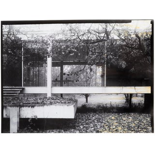 """Farnsworth House Early Decline #2"" Photograph by Jim Zanzi For Sale"