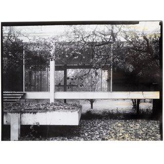 """Farnsworth House Early Decline #2"" Photograph by Jim Zanzi For Sale"