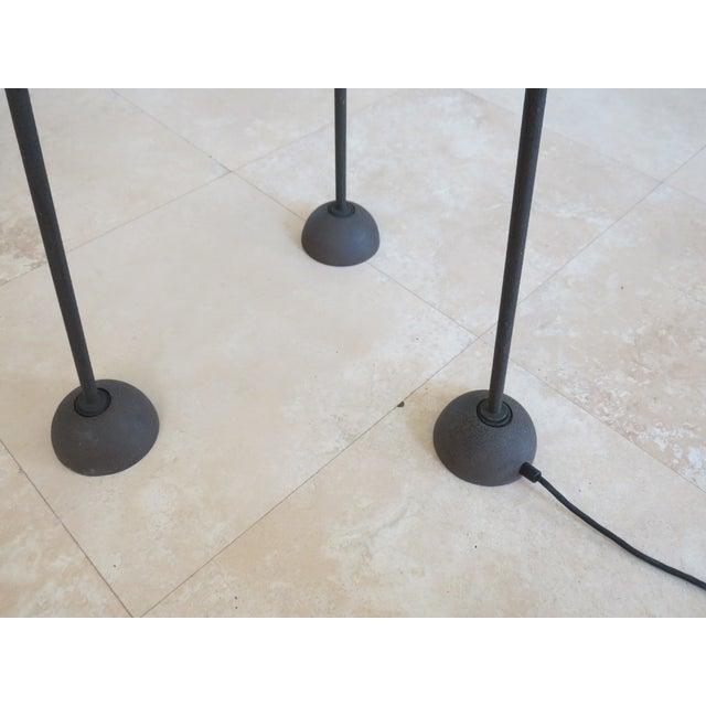 Koch & Lowy Torchiere Floor Lamp - Image 3 of 11