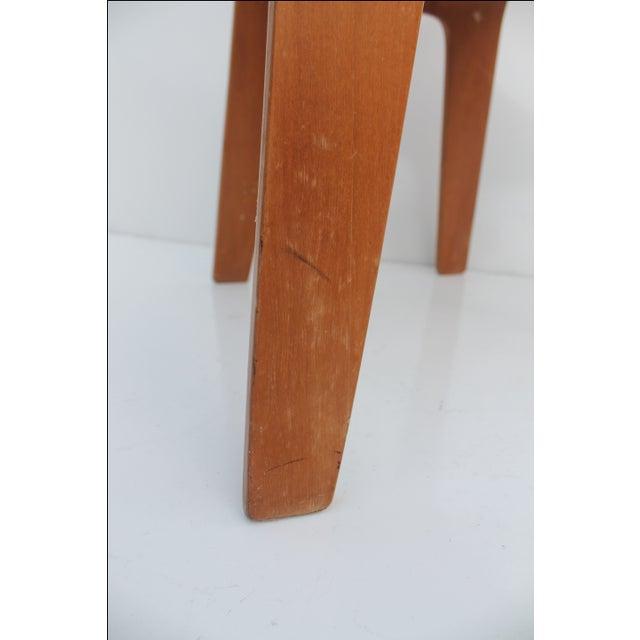 Brown Thaden Jordan Mid-Century Bentwood Birch Chair For Sale - Image 8 of 11