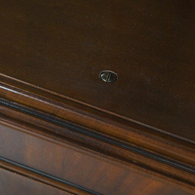 Niagara Furniture Mahogany Corner Cabinet For Sale - Image 6 of 8