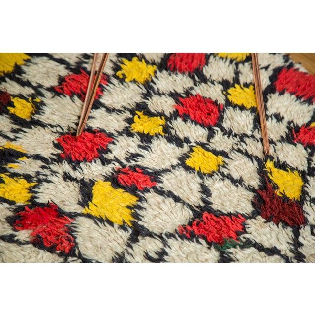 "Vintage Moroccan Rug - 5'5"" X 7'2"" - Image 8 of 9"