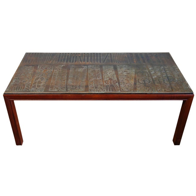 Midcentury Jules Heumann Table For Metropolitan Furniture Chairish