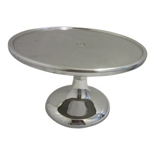 1950s Vintage Chrome Pie Stand For Sale