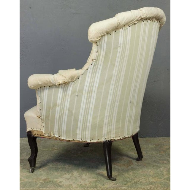 Pair of French Armchairs in Muslin - Image 7 of 11