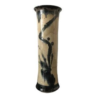 Glazed Pottery Vase For Sale