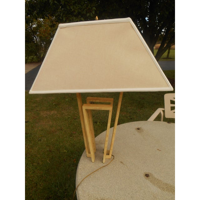 Custom Designer Handcrafted Metal Table Lamp - Image 7 of 7