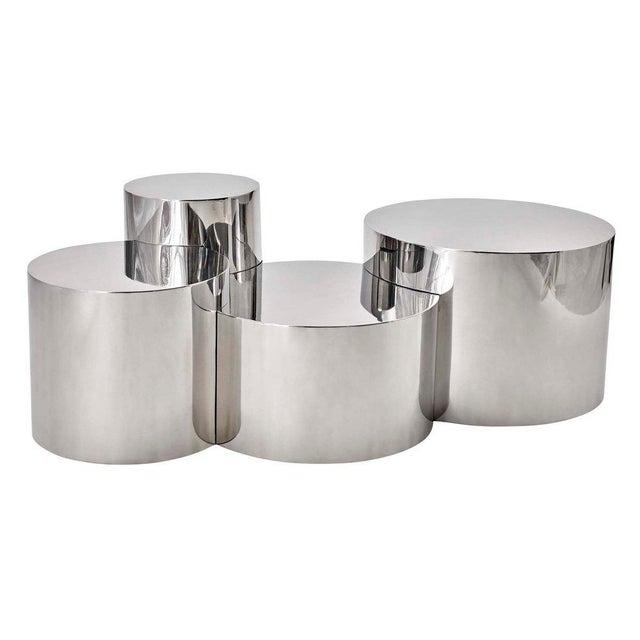"""Geometria: Cerchi #4"" Coffee Table For Sale - Image 12 of 12"