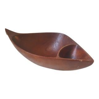 Emil Milan Wooden Bowl For Sale