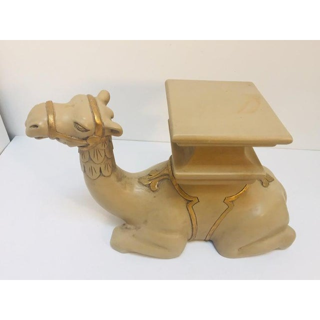 20th Century Moroccan Camel Sculptures Stools - a Pair For Sale - Image 9 of 13