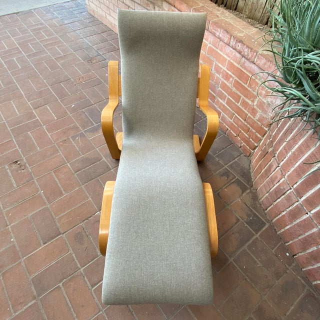 1980s 1980s Marcel Breuer Chaise Lounge For Sale - Image 5 of 13