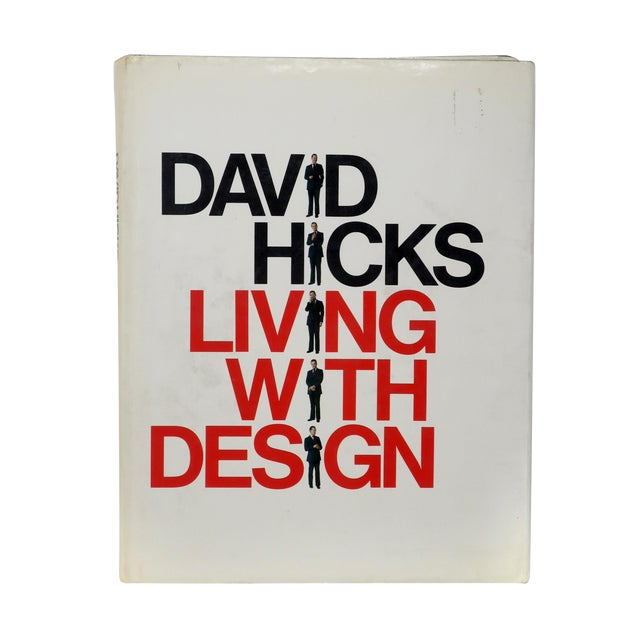 """David Hicks """"Living With Design"""" Book For Sale"""