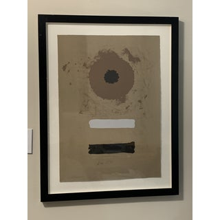 1969 Abstract Expressionist Pencil Signed Adolph Gottlieb Lithograph Preview