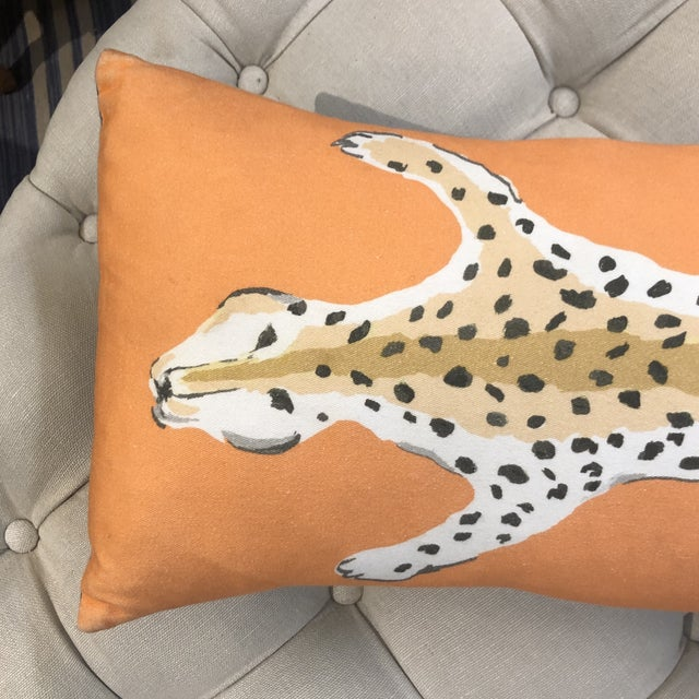 This cool and trendy orange fabric feather stuffed pillow by Dana Gibson gives an amazing pop of color to any couch,...