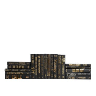 Modern Luxe - Black and Gold Selections : Set of Twenty Decorative Books
