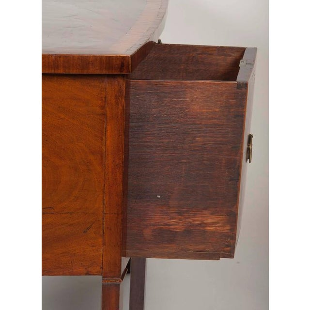 Traditional Fine George III Mahogany and Satinwood Inlaid Sideboard For Sale - Image 3 of 10