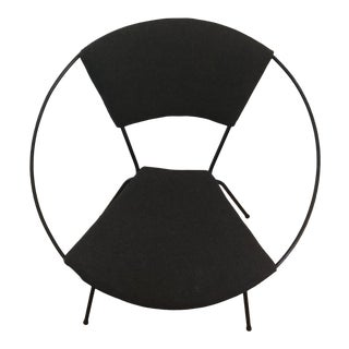 """1960s Vintage Joseph Cicchelli for Reilly Wolf """"Circle Chair"""" For Sale"""
