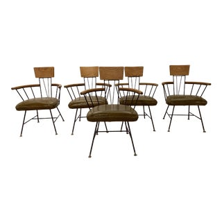 1950s Vintage Richard McCarthy Dining Chairs - Set of 5 For Sale