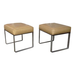 Pair of Mid-Century Modern Benches For Sale