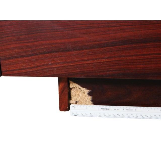Danish Rosewood King Size Platform Bed For Sale - Image 9 of 11